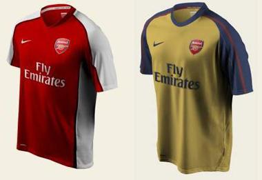 timeless design dd912 e1bee Get a free 2008/2009 Arsenal shirt | GoonersWorld Arsenal Blog